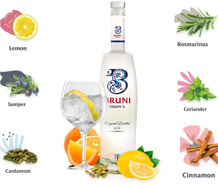 Bruni Collins Gin